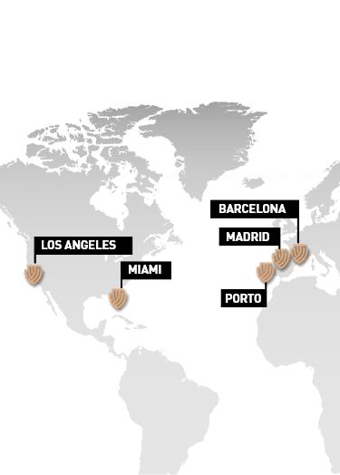 map Tandhem locations